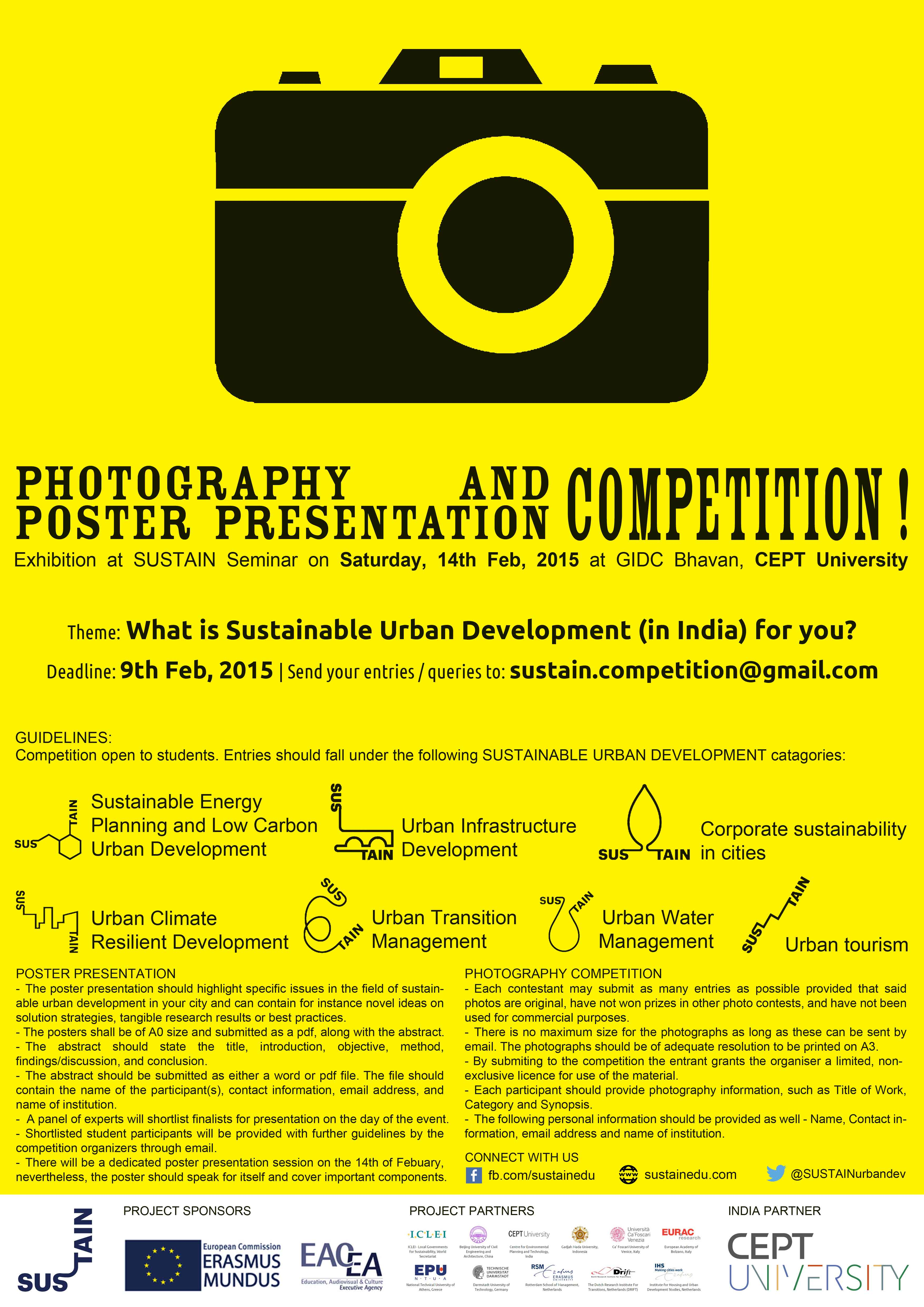 Poster design competition 2015 - Please See The Poster Below For Details Of The Competition