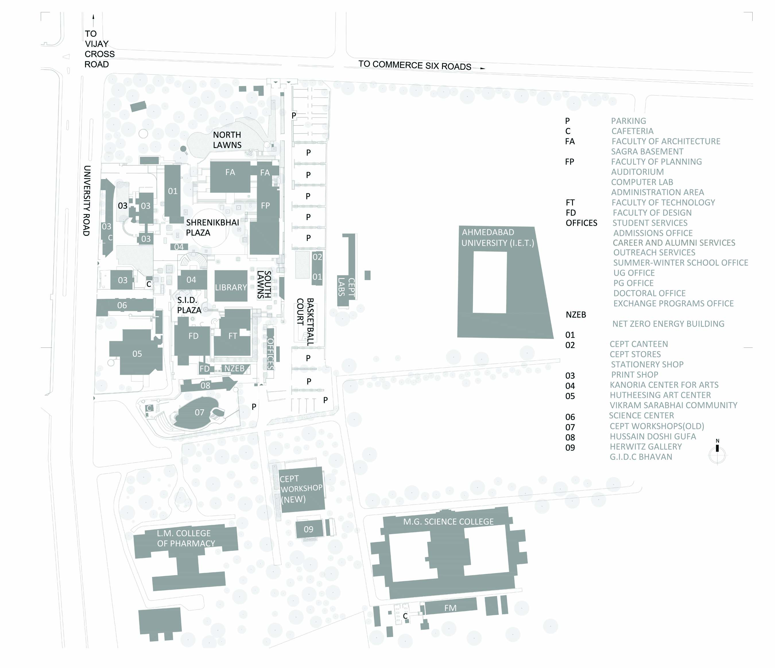 Popular 194 List Sju Campus Map