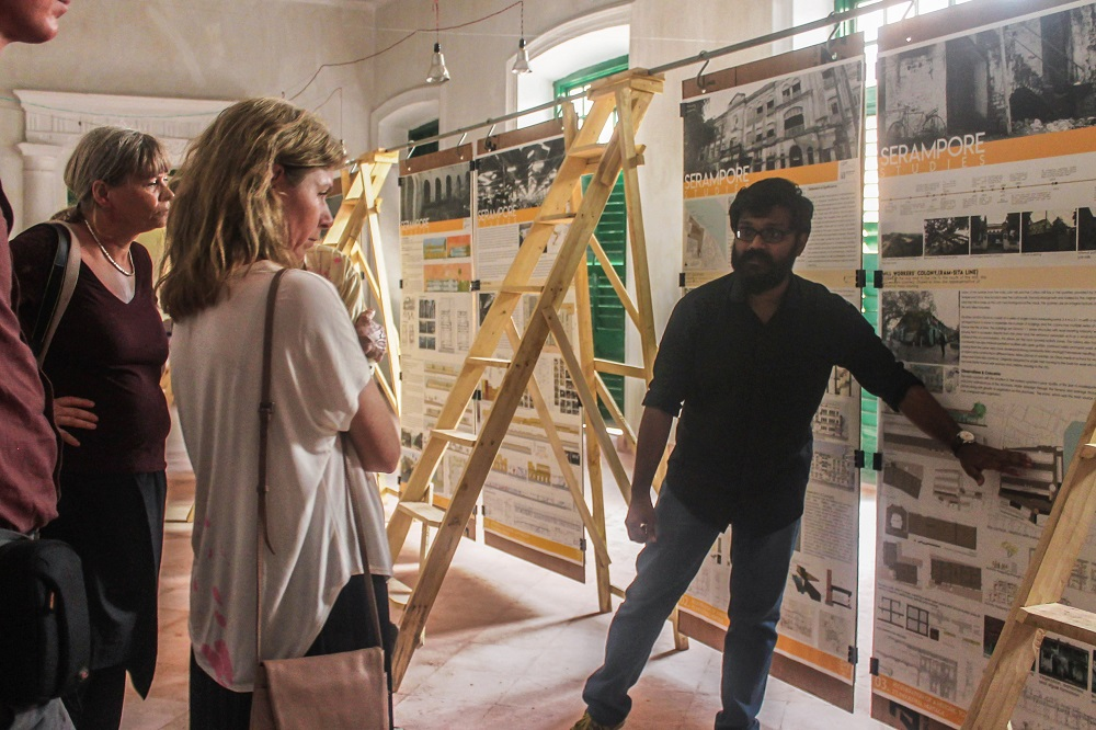 Cept Exhibition At Serampore Faculty Of Architecture News Cept