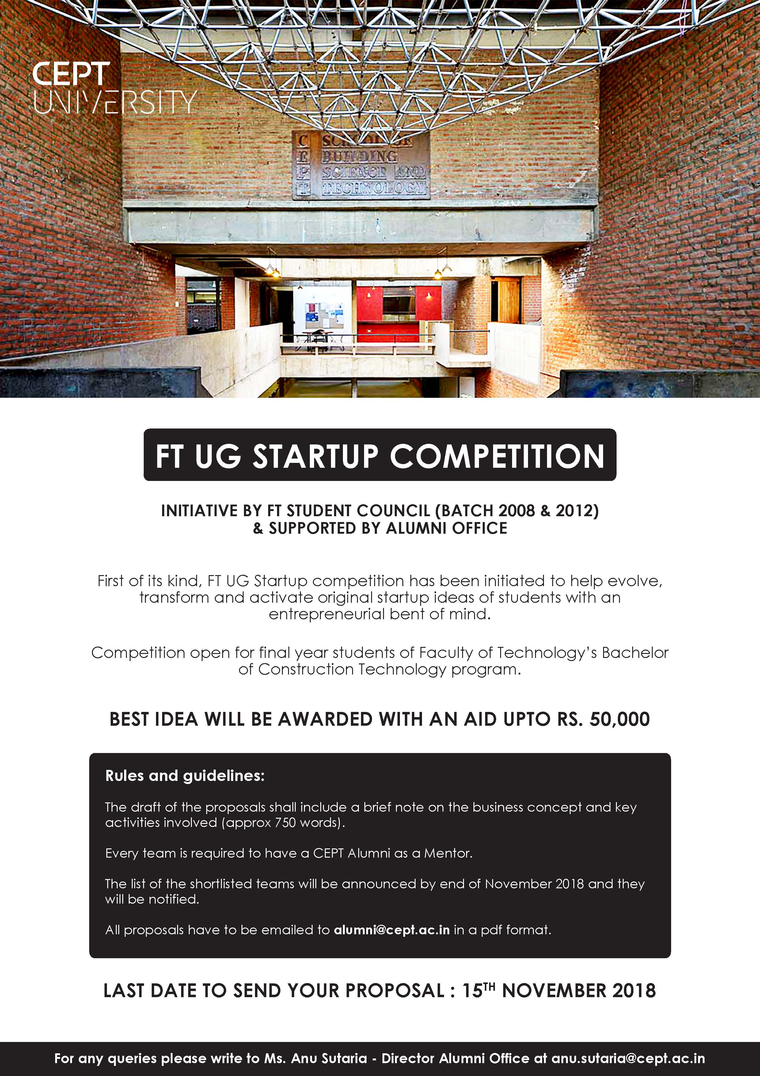 FT Start up Competition - News - CEPT